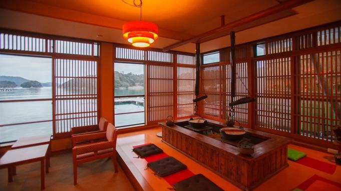 【すき焼き会席】熱々のお鍋と温泉を愉しんで♪1名様6,000円UPで松阪牛に変更。≪貸切風呂無料≫