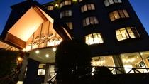 夕刻の芦ノ牧プリンスホテル