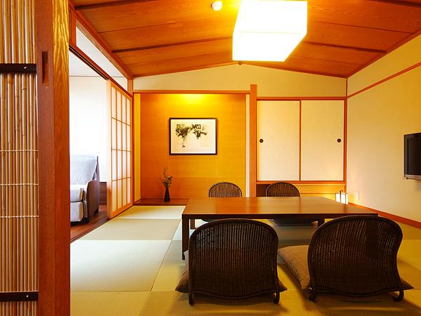 モデレート和洋室 和室部分