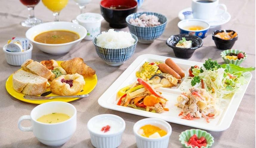 手作り朝食バイキング(和洋食)
