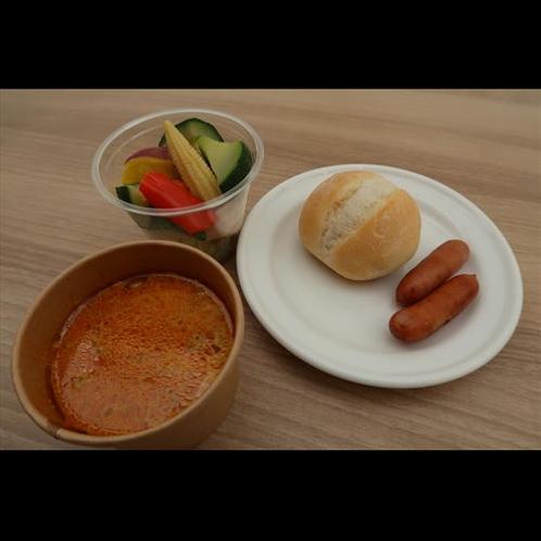 スリランカカレーが人気の朝食(イメージ)