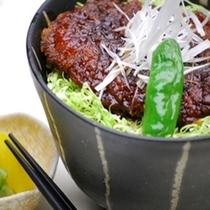 ◆夕食 花々亭◆ソースかつ丼はリピート率No.1の人気メニュー