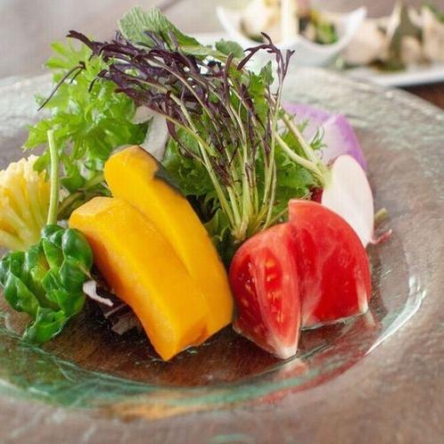 ご夕食一例 高原のサラダ