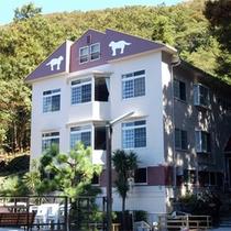 *外観/伊豆箱根国立公園にも指定される高台に建つ当館。自然と絶景が自慢です☆