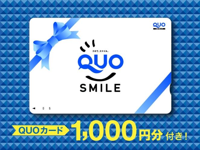 ビジネスマンのお客様に大好評プラン【クオカード¥1000】