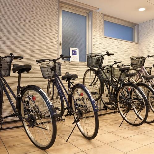 自転車レンタル(先着順)予約不可