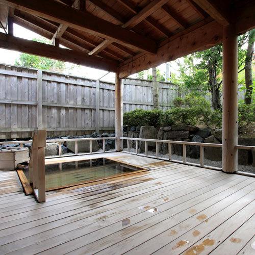 *【露天風呂】天然温泉につかっての〜んびり