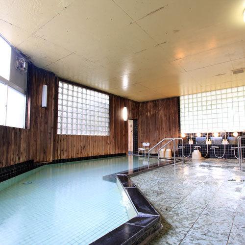 *【大浴場】青森の名湯・浅虫温泉をかけ流しで!