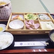 *【朝食例】体に優しい和朝食…美味しいごはんににっこり♪