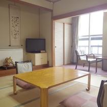 *【客室例】畳のお部屋でのんびりお寛ぎ下さい。