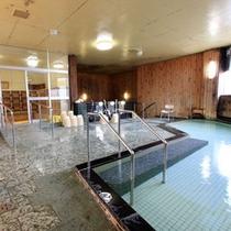 *【大浴場】天然温泉100%かけ流し!疲れを癒しましょう。
