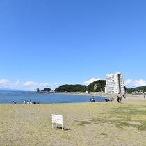 *浅虫海岸/陸奥湾の眺めが良く、海も空も綺麗な景色をご覧頂けます。