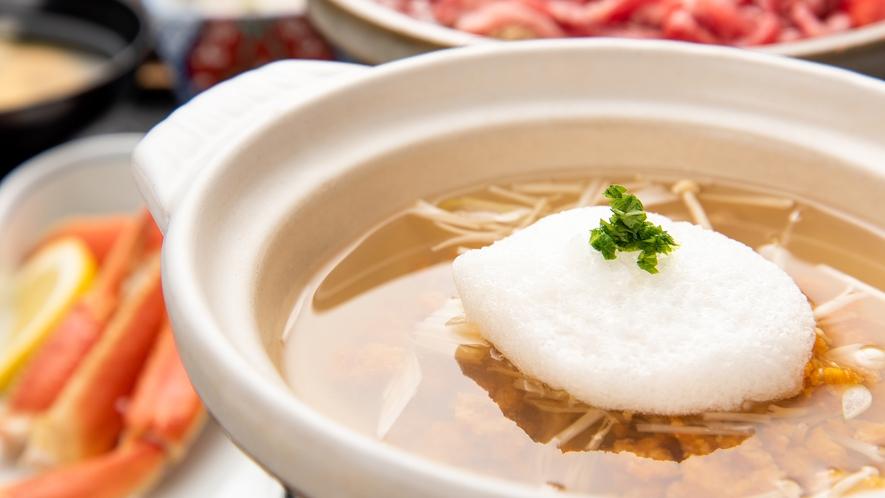 *【お料理スタンダードプラン一例】うに鍋
