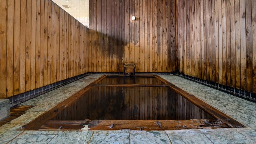*【御湯殿~ひば浴槽~】当館いちおし、江戸時代からの歴史をもつヒバ造りの風呂
