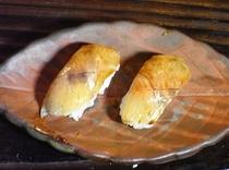 アマゴのにぎり寿司、