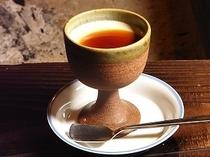 デザート ほうじ茶のプリン