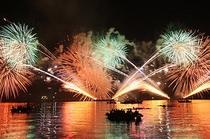 8月16日 宮津燈籠流し花火大会