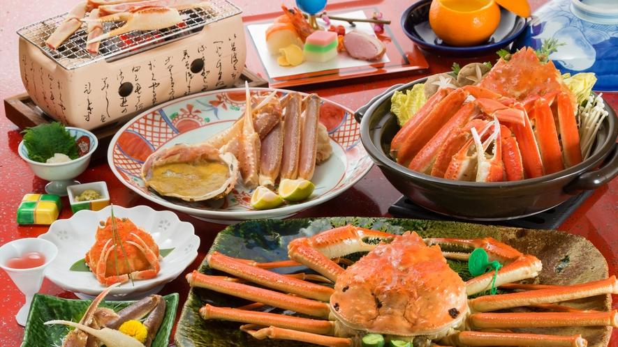 ■厳選!カニ祭(極撰)松葉蟹フルコース■