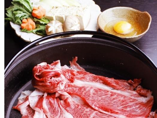 お肉の甘さを感じるなら!信州プレミアム牛「すき焼き」メインの会席膳プラン