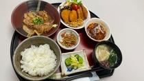 日替わり定食(生姜焼き)