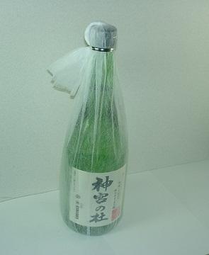 代々木の地酒?懸賞広場で取り上げた銘酒 神宮の杜です。