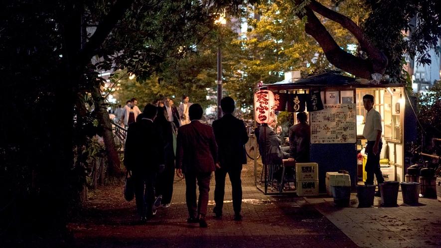<周辺>福岡といえば中洲屋台。人気店から穴場まで新橋ならではの居酒屋巡りも楽しみのひとつ