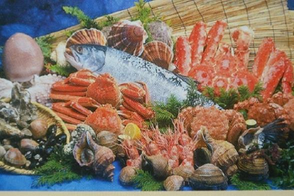 【ファミリー/ちょっと贅沢2食付】タコ・カニ…稚内ならではの海の幸盛りだくさん!旅先グルメを満喫