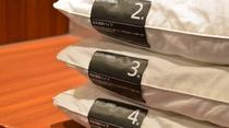 ◆貸し出しグッズ 枕(フロント)