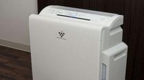 ◆貸し出しグッズ 加湿器付空気清浄機(フロント)