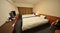 ◆ツインルーム21平米 ベッドサイズ120cm×205cm×2台