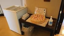 ◆湯上りサービス アイスキャンディー・乳酸菌飲料