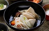 ◆朝食 ご当地料理せんべい汁(イメージ)