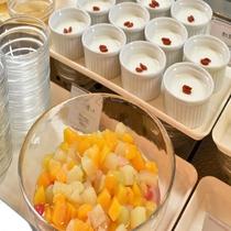 ◆朝食:フルーツ3