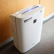 ◆全室に加湿機能付き空気清浄器を完備◆