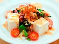 豆腐のサラダ  ☆ヘルシーで美味しいサラダです。
