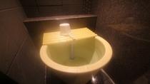 """グランドアネックス館男女別大浴場には""""かけ湯""""がございます。"""