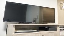 グランドアネックス全客室には40型液晶テレビが常設してございます。