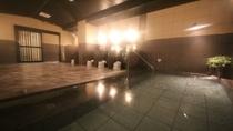 グランドアネックス館女性大浴場浴室。女性のお客様でも足を伸ばして、ゆっくり御入浴いただけます。