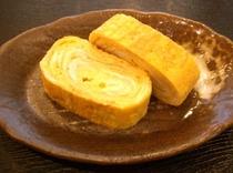 ご夕食の一例(たまご焼き100円)
