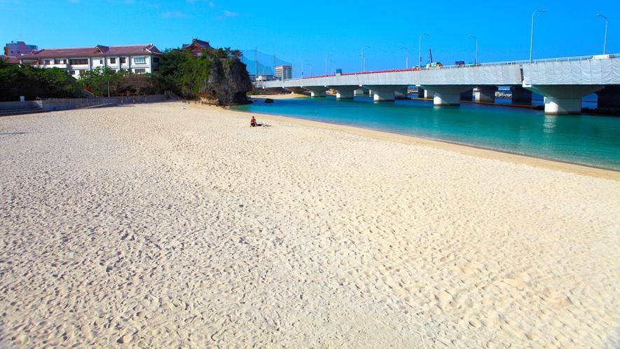 【観光★波の上ビーチ】那覇市内唯一のビーチまで車で5分!