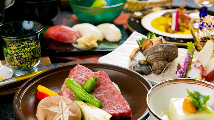 【さき楽30☆2食付】当館大人気「選べる会席◆和食or洋食」が≪おひとり様ずつ1,000円OFF≫