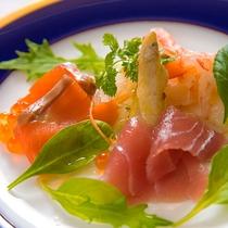 ◆【洋食】シーフードのカルパッチョ仕立て◆