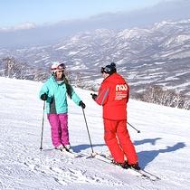 *スキーレッスン