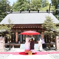 ホテルウエディング 乃木神社 神前挙式