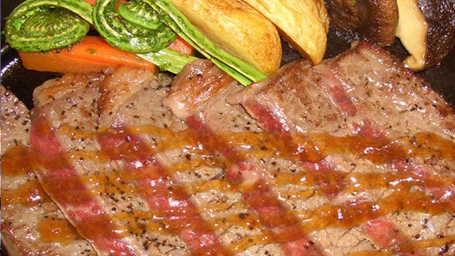 【一品料理】 地元ブランド牛「雫石牛」ステーキ