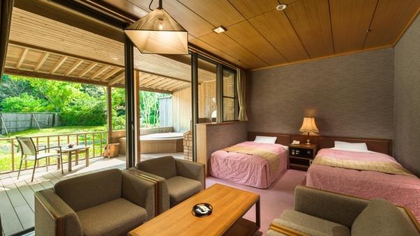 《1室限定》【和洋室】露天風呂付客室で至福の時間を過ごそう!