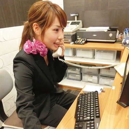 スタッフ電話対応