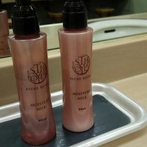 【*大浴場】女性脱衣所にはPOLAの化粧水・乳液を設置しております。