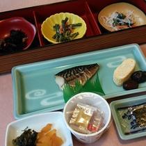 【*朝食一例】香川の郷土料理・しょうゆ豆も