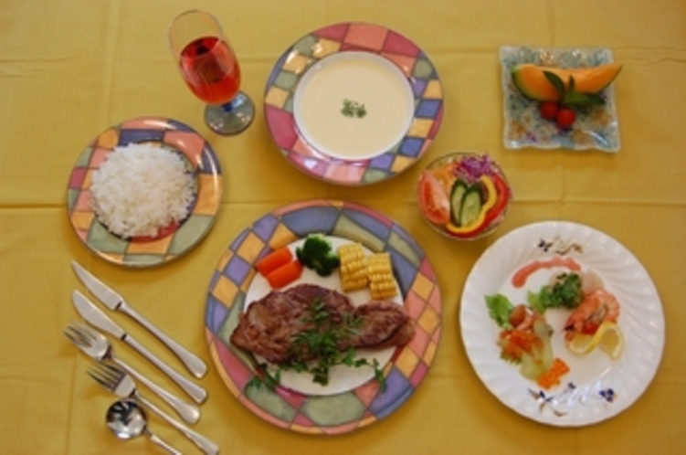 15 洋食ステーキコース